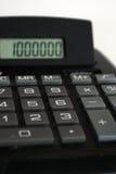 Un million - comptabilité Photo libre de droits