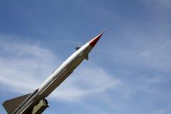 Un missile Fotografie Stock Libere da Diritti