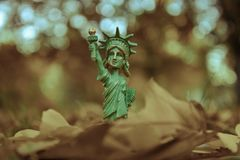 Un modèle d'état de liberté Photo libre de droits