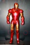 Un modèle de l'homme de fer de caractère des films et des bandes dessinées 4 Image stock