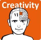 Un modèle de psychologie Image stock