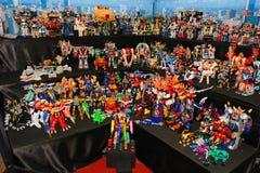 Un modèle de robot des films et des bandes dessinées Photo stock