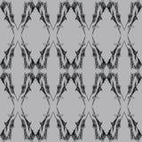 Modèle sans couture gothique abstrait Image libre de droits