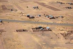Un mode de vie au Pérou Image libre de droits