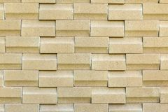 Un modello dell'immagine di struttura marrone del muro di mattoni Immagini Stock Libere da Diritti