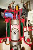 Motore diesel. Immagini Stock