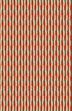 Un modello rosso e grigio metallico dentellato ed ad angolo fotografia stock