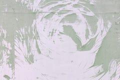 Un modelo abstracto inusual del polvo, en una pared pálida de la lila Fondo en blanco para una disposición, textura Imágenes de archivo libres de regalías