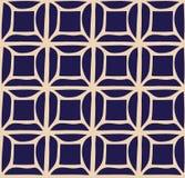 Un modelo bicolor de la rejilla simple del vector Foto de archivo libre de regalías
