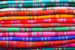 Un modelo de la bufanda del doblez en Nepal Imágenes de archivo libres de regalías