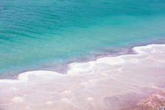 Un modelo de la sal del mar muerto foto de archivo libre de regalías