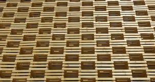 Un modelo de madera arquitectónico almacen de video
