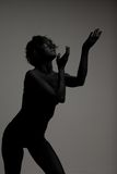 Un modelo de manera femenino joven Fotografía de archivo libre de regalías