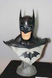 Un modelo del carácter Batman de las películas y de los tebeos imagenes de archivo