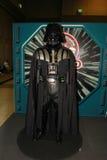 Un modelo del carácter Darth Vader de las películas y de los tebeos fotos de archivo libres de regalías