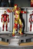 Un modelo del hombre del hierro del carácter de las películas y de los tebeos 6 imagen de archivo libre de regalías