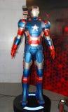 Un modelo del hombre del hierro del carácter de las películas y de los tebeos 10 Imagen de archivo