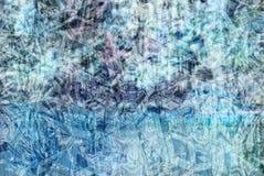 Un modelo en el fondo de un frío empañó la textura de la naturaleza Imagen de archivo libre de regalías