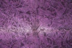 Un modelo en el fondo púrpura Imagen de archivo libre de regalías