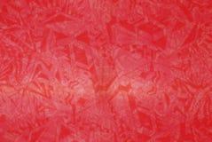 Un modelo en el fondo rojo Fotografía de archivo libre de regalías