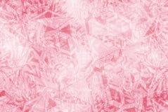 Un modelo en el fondo rosado Foto de archivo libre de regalías