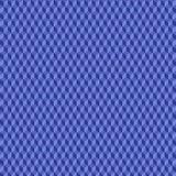 Un modelo geométrico con los cubos que son diversas sombras del azul ilustración del vector