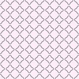 Un modelo inconsútil en gris y rosa Con los cuadrados En acuarela Imagen de archivo