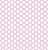 Un modelo inconsútil sensible para el cordón de la materia textil o red en colores rosados y blancos de niña Fotos de archivo libres de regalías