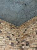 Un modelo o un interior del ladrillo es un estilo caliente para el interior de un desván Fotografía de archivo libre de regalías