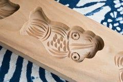 Un molde de madera Fotografía de archivo libre de regalías