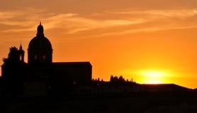 Un momento ricordato: Florence Sunset Immagine Stock Libera da Diritti