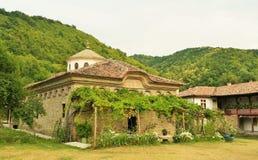 Un monasterio búlgaro Foto de archivo libre de regalías
