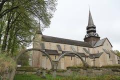 Un monasterio sueco foto de archivo libre de regalías
