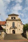 Un monastero Fotografia Stock