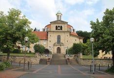 Un monastero Fotografie Stock Libere da Diritti