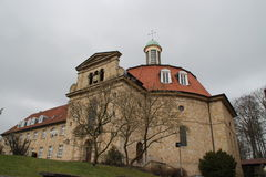 Un monastero Fotografia Stock Libera da Diritti