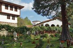 Un monastero medievale di sette altari della madre più santa di Dio, Bulgaria Immagini Stock Libere da Diritti