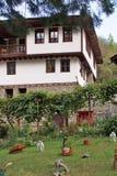 Un monastero medievale di sette altari della madre più santa di Dio, Bulgaria Immagine Stock