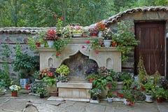 Un monastero medievale di sette altari della madre più santa di Dio, Bulgaria Fotografia Stock Libera da Diritti
