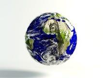 un mondo dei 100 dollari Fotografia Stock Libera da Diritti