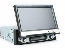 Un monitor del coche foto de archivo
