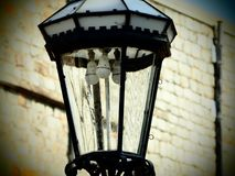 Un monologo del ` s della lampada fotografie stock