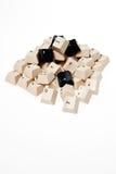 Un montón de los botones del teclado. foto de archivo libre de regalías