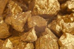 Un monticello di oro Immagini Stock Libere da Diritti