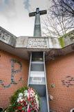 Un monument aux victimes du camp de concentration du NKVD Image stock