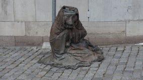 Un monumento ad una vecchia volpe saggia Fotografie Stock Libere da Diritti