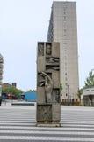 Un monumento confusionario immagine stock libera da diritti