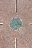 Un monumento dei quattro angoli Fotografie Stock Libere da Diritti