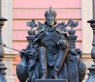 Un monumento a Pavel First fotografie stock libere da diritti