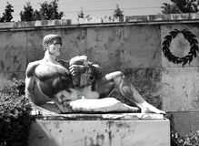 Un monumento a 300 spartani Fotografia Stock